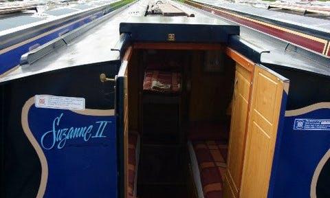 Suzanne, Narrowboat Cruise from Falkirk, Scotland