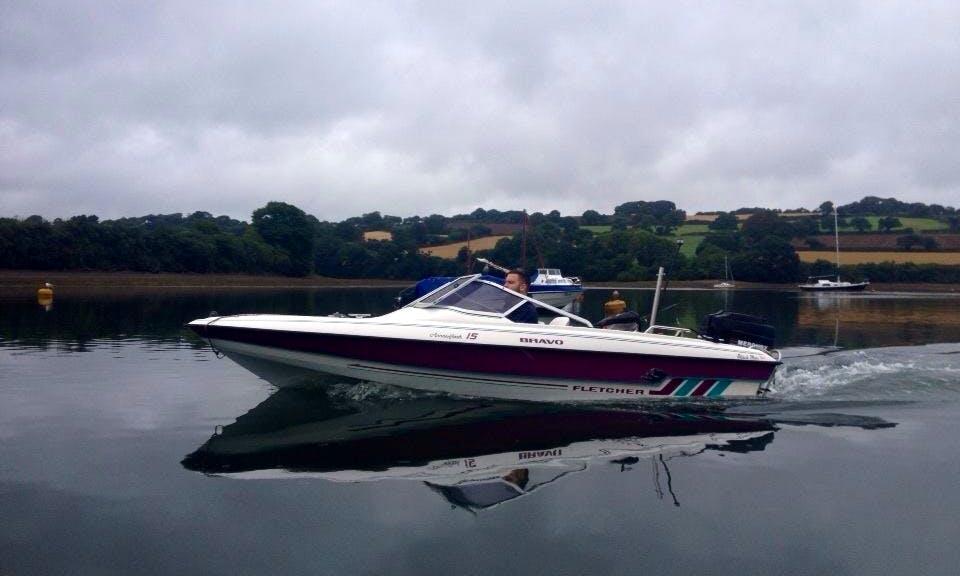 Superfast Fletcher Speedboat for Rent in Penryn