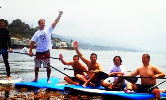 Stand Up Paddleboard Rentals And Lessons In Malibu, Ca
