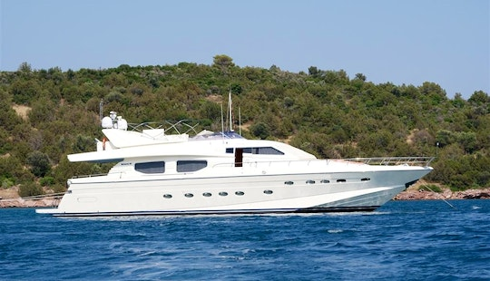 Charter The 80' Motor Yacht Dilias In Greece