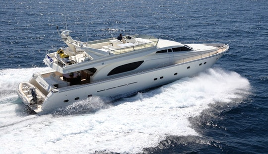 Charter The 80' Yacht Kentavros Ii In Greece