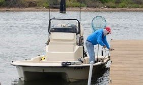 Fishing Guide Service in 24' Haynie Cat in Rockport, TX