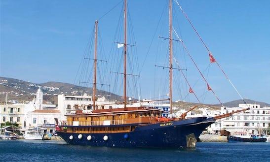 167' Gulet Galileo Charter In Pireas, Greece