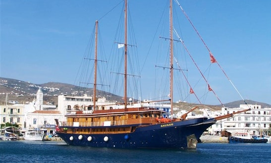 167' Gulet Galileo Charter In Pireas, Greece