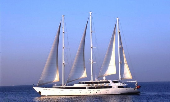 Charter The 178' Sailing Yacht Panorama In Greece