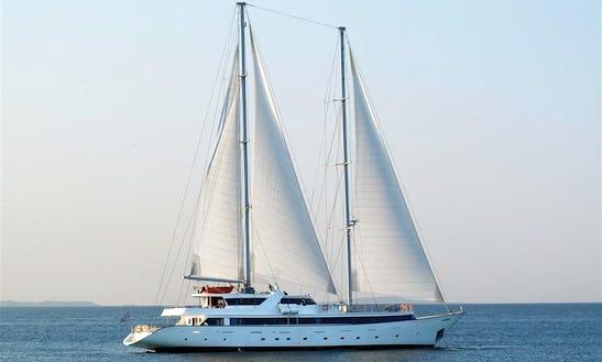 Charter The 164' Sailing Yacht Panorama Ii In Greece