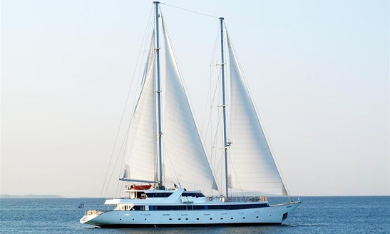 Charter The 164' Sailing Yacht Panorama Ii In Greece
