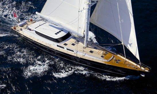 Charter The 133' Sailing Yacht Allure In Greece