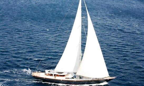 Charter The 118' Sailing Yacht Gitana In Greece