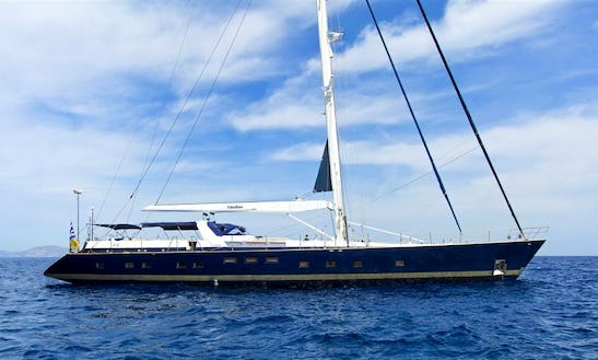 Charter The 360' Sailing Yacht Amadeus In Greece