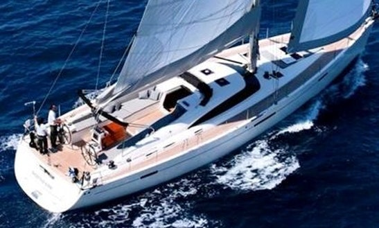 Charter The 65' Sailing Yacht Shooting Star In Greece