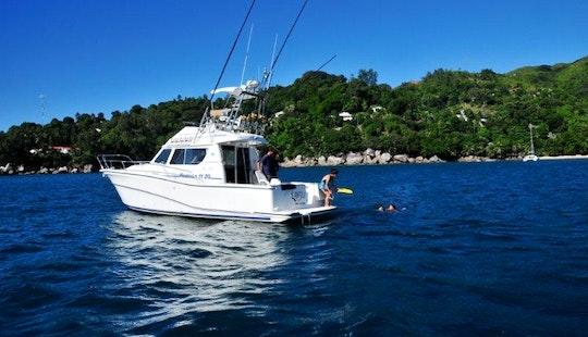 Fishing Boat For Rent - Seychelles