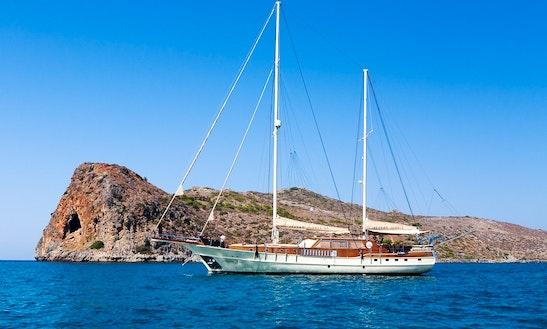 98' Gulet Aegean Schatz Charter In Pireas, Greece