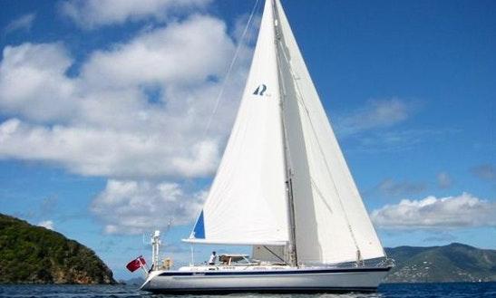 Charter Hallberg-rassy 62' Sailboat In Road Town - Stormbird