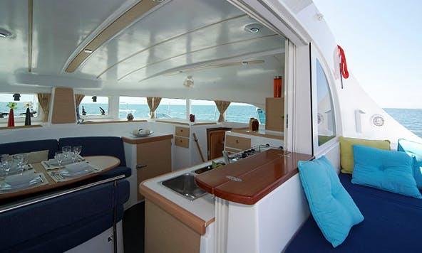 Lagoon 380 S2 Premium Catamaran Charter in Šibenik, Croatia