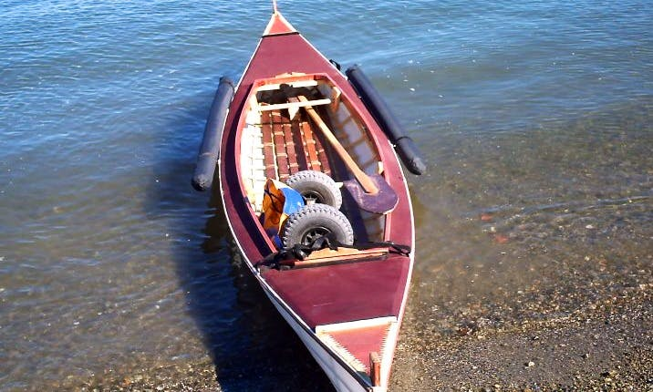 Double Dreamcatcher kayak available to rent in Vancouver