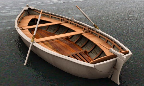 8-10 Person Rowing Lifeboat Rental in Vancouver