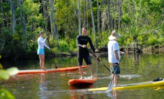 Rent Sup And Enjoy Big Pottsberg Creek In Jacksonville, Florida