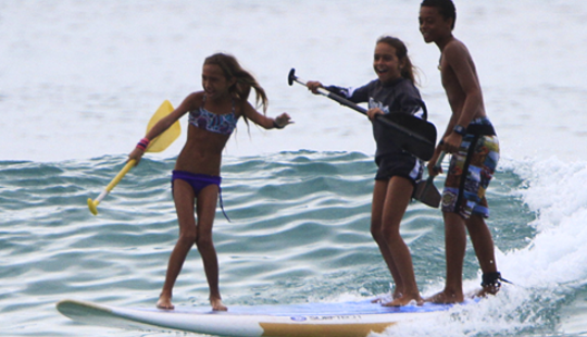 Private Stand Up Paddle Lesson In Honolulu, Hawaii For $75