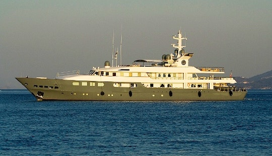 Charter The 193' Motor Yacht Magnus Grecia In Greece