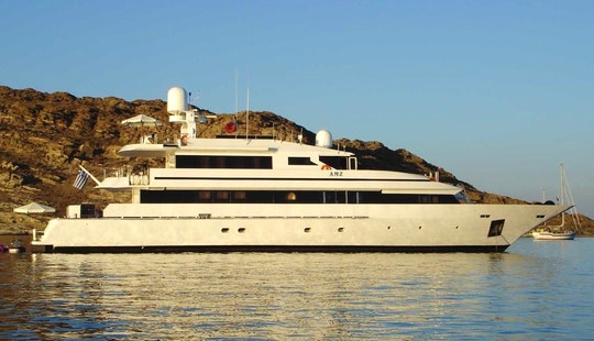 Charter The 137' Motor Yacht Amz In Greece