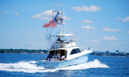 46ft Motor Yacht Boat Charter In Stamford, Connecticut