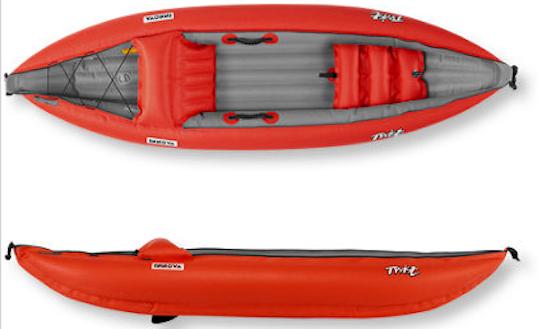 Inflatable Kayak Trips In Ridgway, Colorado
