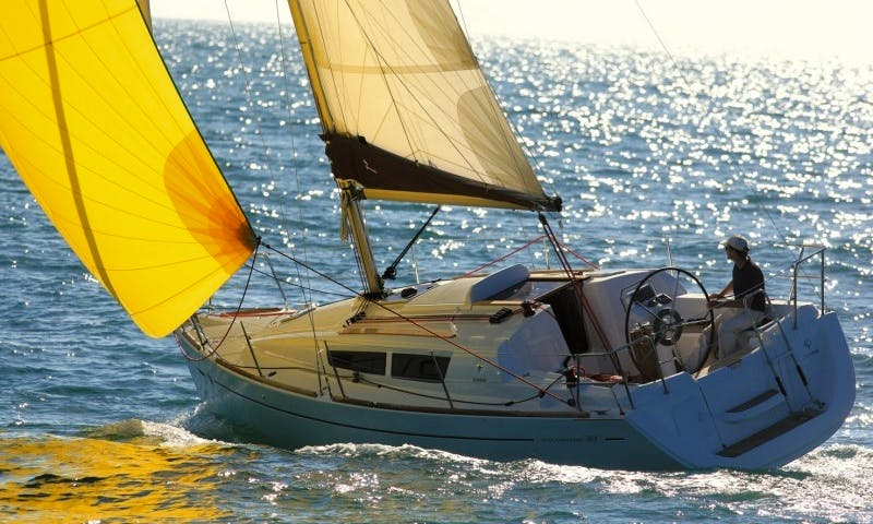 """Captained Charters on """"Beagle"""" a Monohull from Zeeland and Friesland"""