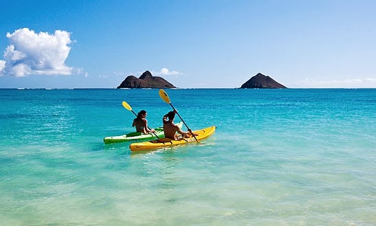 Guided Kayak Tours In Kihei, Hawaii
