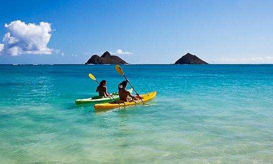 Guided Kayak Tours In Kihei, Hawaii