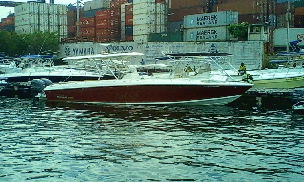 "Charter 38ft ""Bravo"" Center Console In Cartagena, Colombia"
