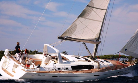 Oceanis 50 Family Yacht Charter In Marina