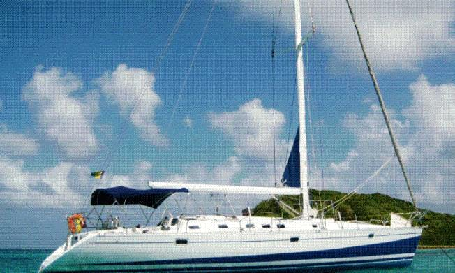 Sail the Grenadines on Cruising Monohull Polair Star