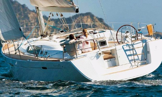 Oceanis 50 Sailing Yacht Charter St Martin British Virgin Islands