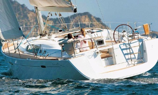 Oceanis 50 Sailing Yacht Charter St Martin Bvi