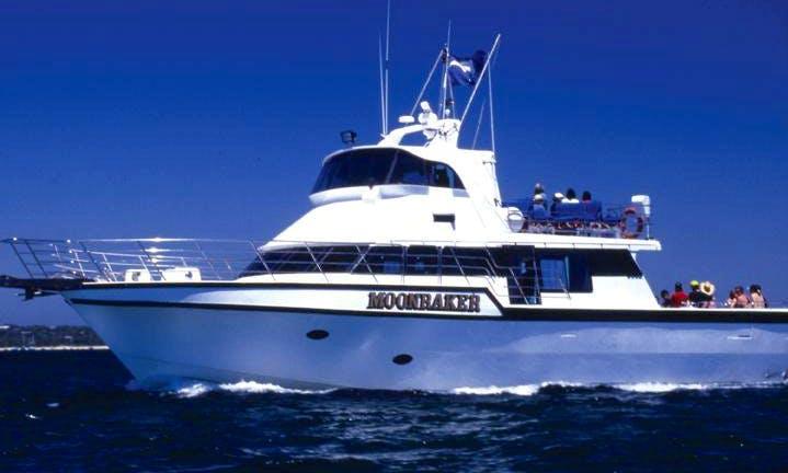 "Private Cruises on 70ft ""Moonraker"" Yacht in Victoria, Australia"