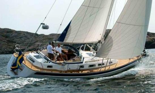 Sailing Charter Hallberg-rassy 40 In Denmark