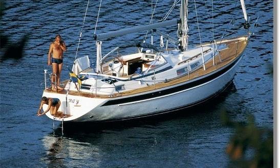 Hallberg-rassy 36 Sailboat Charter In Denmark