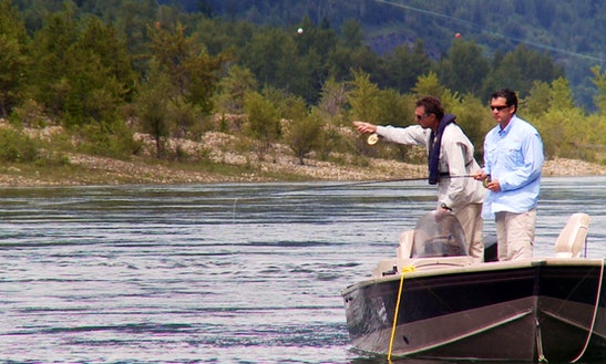 Fishing Guide & Sightseeing Trips On Columbia River