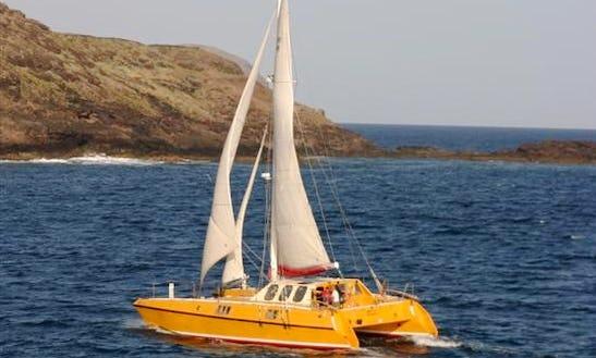 Cruising Catamaran Charter In Blue Azores
