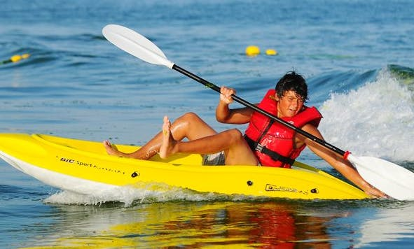 Single Kayak Rental in Fuseta and Olhão