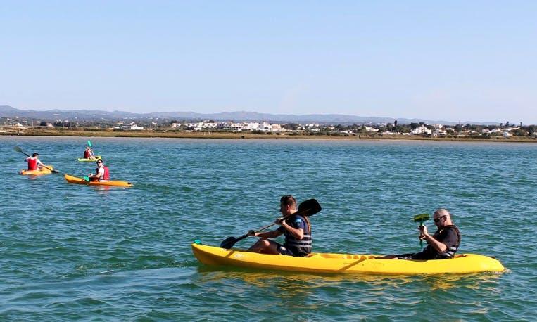 Tandem Kayak Rental in Fuseta and Olhão
