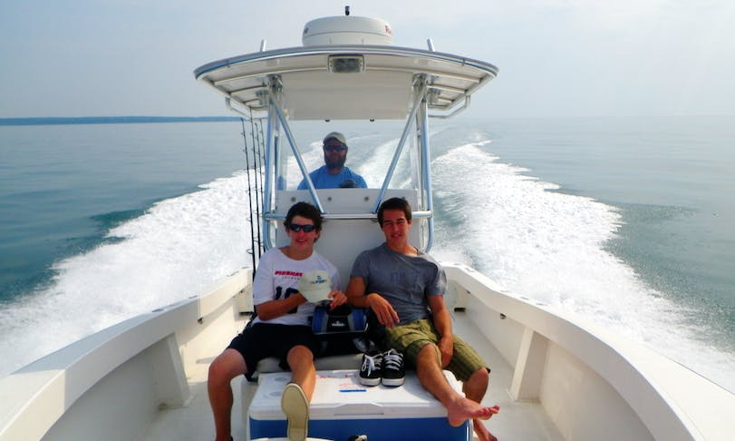"Enjoy Fishing On 27ft ""Conch"" Center Console In Falmouth, Massachusetts"