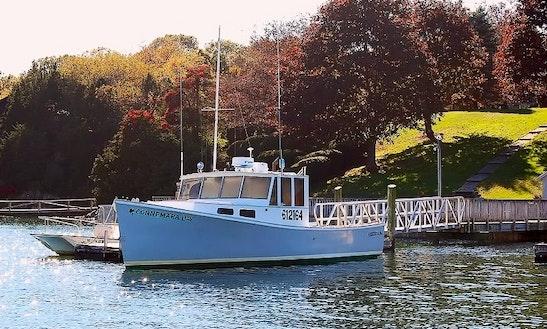 Fishing Charter On 37' Cuddy Cabin In Gloucester, Massachusetts