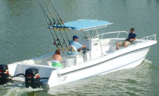 29ft Twin Vee Catamaran Charter In Matagorda, Texas