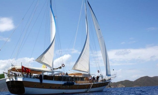 Sailing Gulet 'osman Kurt' Charter In Bodrum