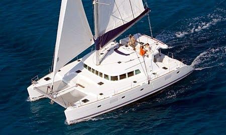 "Charter 51ft ""Azeta I"" Lagoon Cruising Catamaran in Sicily, Italy"