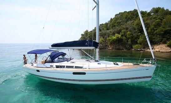 Charter Sun Odyssey 439 Sailing Yacht In Catania