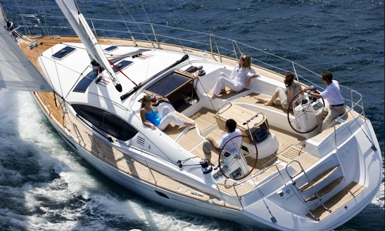 Charter Dufour 455 Mercury Planet In Sicily