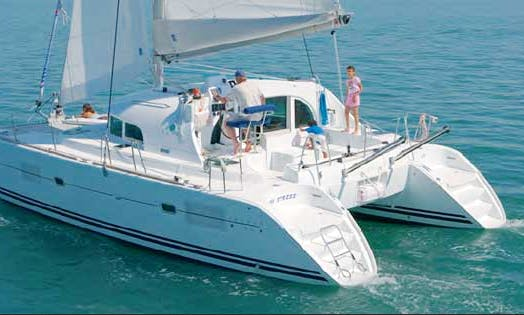 Charter a 46' Lagoon Premium Saturn Planet Catamaran in Sicily, Italy